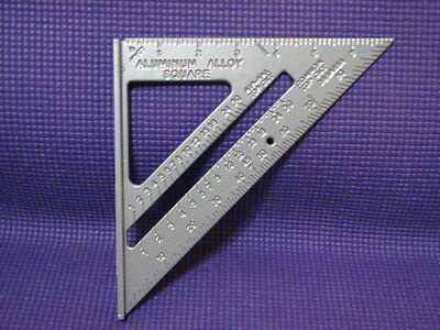 """Tool Shop 7""""  Aluminum Alloy Rafter Angle Square - NEW"""