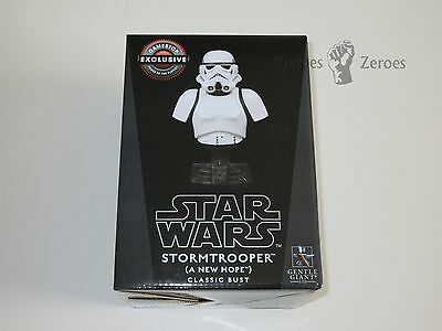 Gentle Giant Star Wars STORMTROOPER A New Hope Classic Bust GameStop 4243/5000
