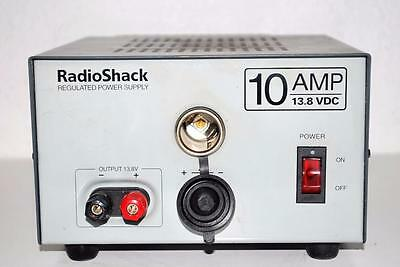 Radio Shack 10 Amps Regulated Power Supply terminal post output DCC trains 13.8v