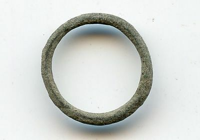 Authentic ancient copper Celtic ring money, ca.800-500 BC, Central Europe