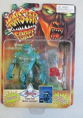 Moc 1994 Playmates Monster Force Creature From The Black Lagoon Action Figure