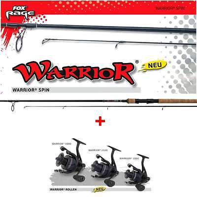 Fox RAGE WARRIOR 2500 + WARRIOR Spin 2,70m Fox Wg: 15-50g