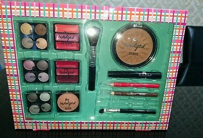 New Be Indulged Make Up Kit Eye Shadow Lip Gloss Blush Bronzer Mascara
