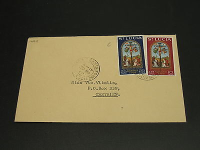 St Lucia 1968 cover *14664