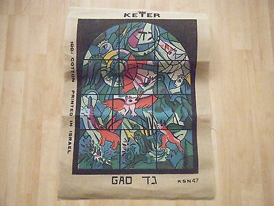 """Keter-Stained Glass Window- printed tapestry canvas-18x14"""""""