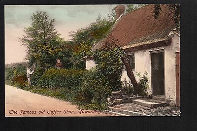 Hawarden - The Famous Old Toffee Shop  - colour printed postcard