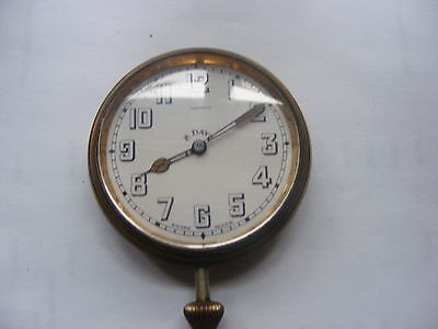 Vintage Elkington 8 Day Car Clock
