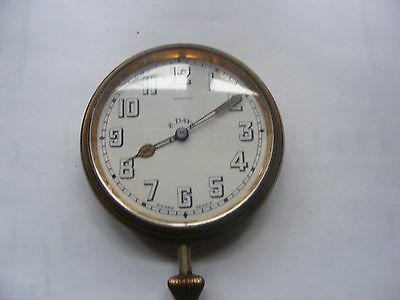 Vintage Elkington 8 Day Car Clock • £25.00