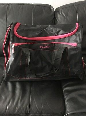 Pink And Black Sports Bag