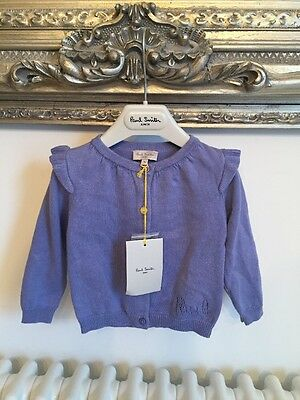 Adorable Paul Smith Baby Size 1year Cardigan