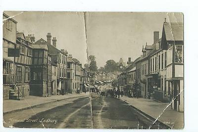 Herefordshire RP by Valentines of the Homend, Ledbury PU 1913