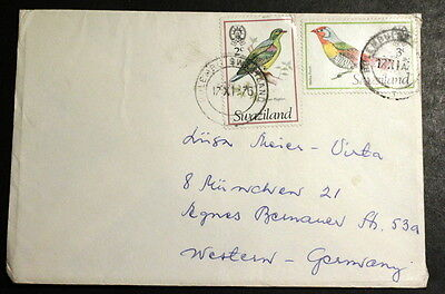Swaziland 1976 cover to Germany #070