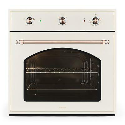 New Vintage Convection Oven Classic Cooking Grill Baking Bbq Energy A 55 L Ivory