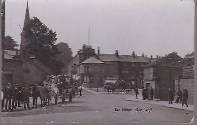 Vintage 1912 Card Of The Village, Bakewell
