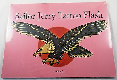 Sailor Jerry Tattoo Flash Volume 2 Collins Out of Print New SEALED in Plastic