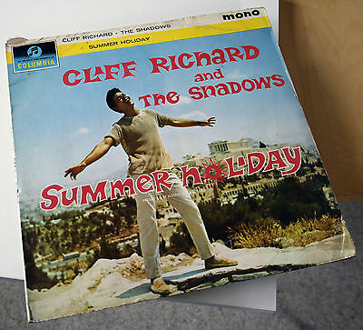 Summer Holiday Cliff Richard And The Shadows Vinyl Lp Record
