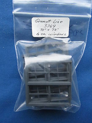 Grandt Line Windows 3769 O Scale 1:48 Structure Freight Details On3 On30 New!