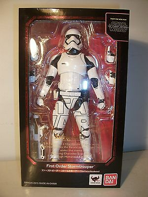 Star Wars Stormtrooper Figure S.H. Figuarts Arts Japanese Bandai  exclusive MIB