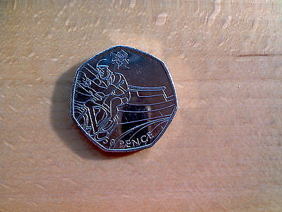 50p Olympic 2012 Cycling