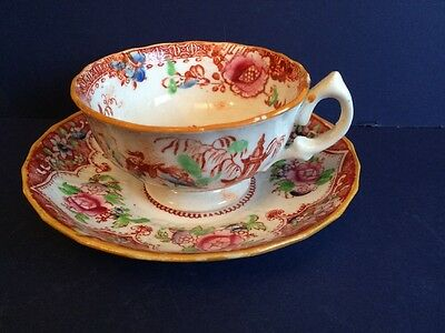 Pretty Chinese Cup And Saucer