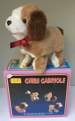 Chien Cabriole - Jouet à piles Jamina Battery Toy - 1985 Neuf