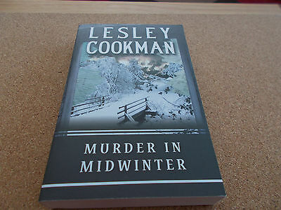 Murder in Midwinter by Lesley Cookman (Paperback, 2007) / Cozy Mystery
