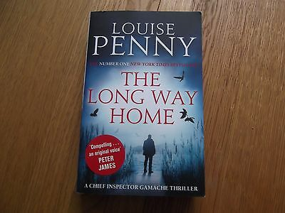 Louise Penny-The Long Way Home. Paperback Book 2014