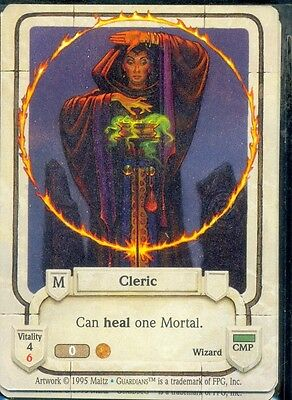 Guardians Ccg Cleric  Vo Uncommon