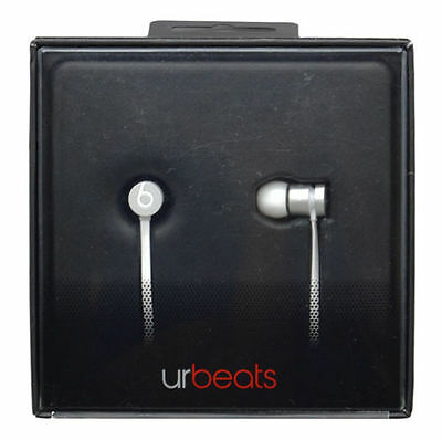 Beats Dr.Dre urBeats In-Ear Wired Earphones Headphones Silver Special Edition