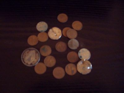 Collection Of 15 Early Decimal 1/2p Coins + Others - Bargain!