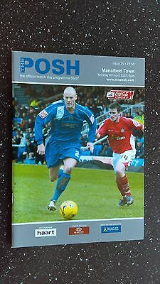 Peterborough United V Mansfield Town 2006-07