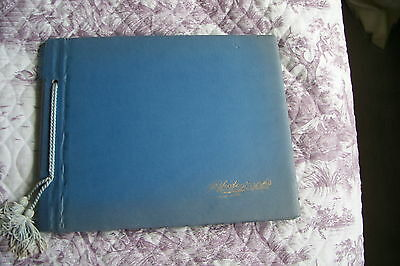 Vintage Photograph Album Scrap Book Great Scraps, Royal Pictures & Adverts Etc.