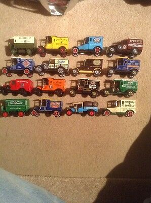 MATCHBOX MODELS OF YESTERYEAR X16 Commercial Vehicle Collection