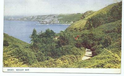 Colour Postcard of Bouley Bay, Jersey