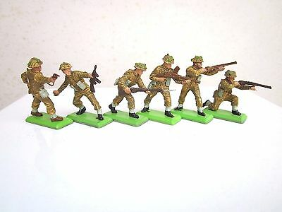 Britains Deetail British Soldiers Full Set of Six