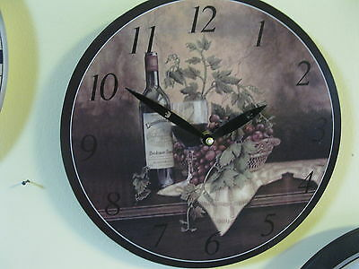 Large Wall Clock 30 cm Nostalgic Clock Antique style Wine