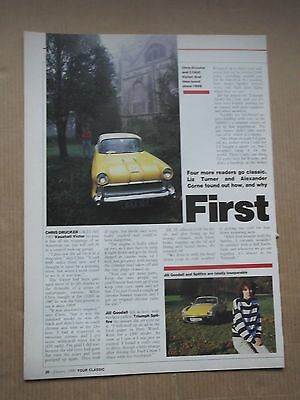 Vauxhall Victor F Type-Triumph Spitfire 1500 - Owners Stories