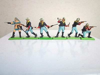 Britains Deetail - Wild West General Custer & 7th Cavalry - Complete set of 6