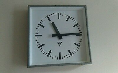 Vintage Industrial Factory Office Clock