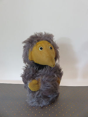 Vintage The Wombles Plastic Felt Toy