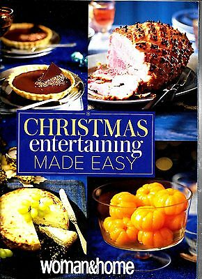 Christmas Entertaining Made Easy magazine from Woman & Home 2015 VGC