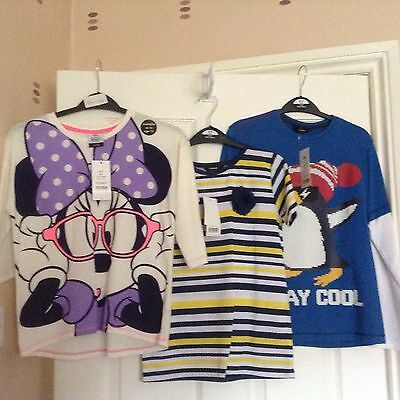 New With Tags 3 X Girls Tops. Age 8-9