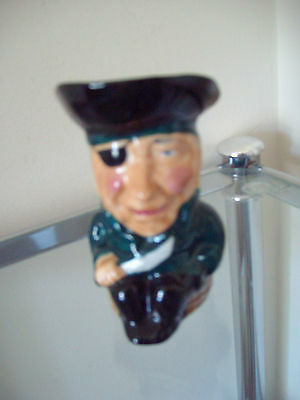 Pirate Toby Jug - Thornley Bone China - Nice Little Collectable Ornament