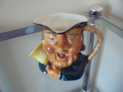 The Town Crier Toby Jug - Thornley Bone China - Nice Little Collectable Ornament