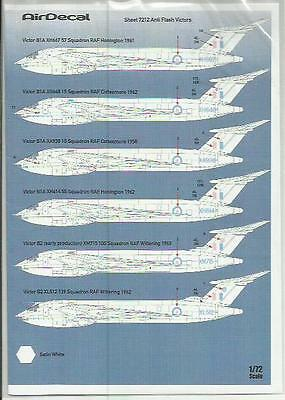 AirDecal decals 7212 Anti Flash (white) Victor decals in 1:72 Scale