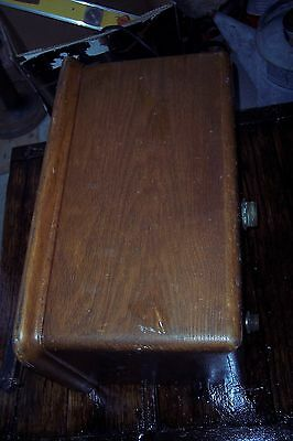 Antique Oak Toilet Tank Old Vintage Bathroom