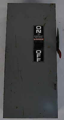 GE General Electric TGN3323 100AMP 240V Non Fusible Safety Disconnect Switch Box
