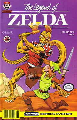 Legend of Zelda, The (2nd Series) #5 FN Valiant - save on shipping - details ins