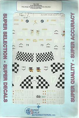 Microscale Superscale 72-122 P-47 Thunderbolt decals in 1:72 Scale