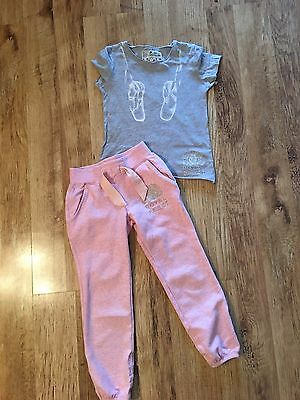 Joules ~ Royal Ballet Joggers & Tee ~ Age 3-4